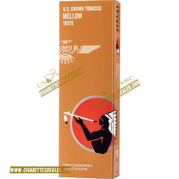 American Spirit 100% US Grown Mellow Tan Box