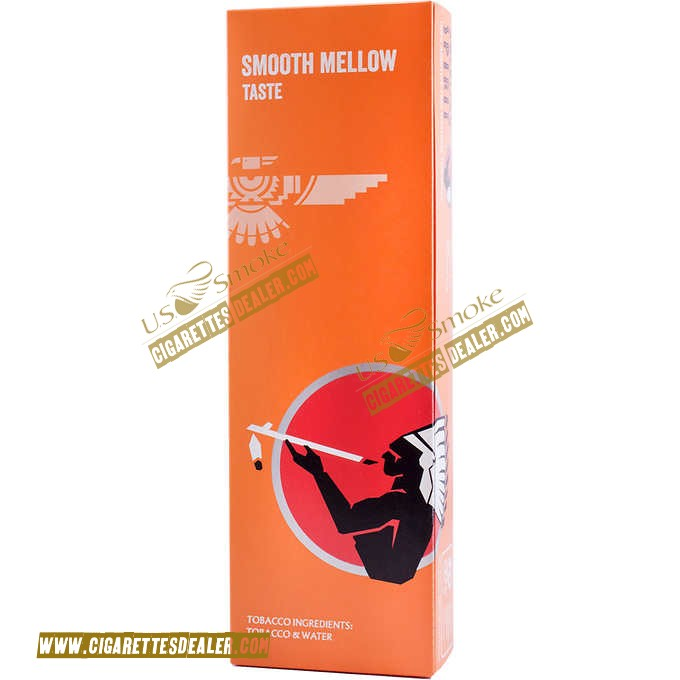 American Spirit Smooth Mellow Taste Orange Box