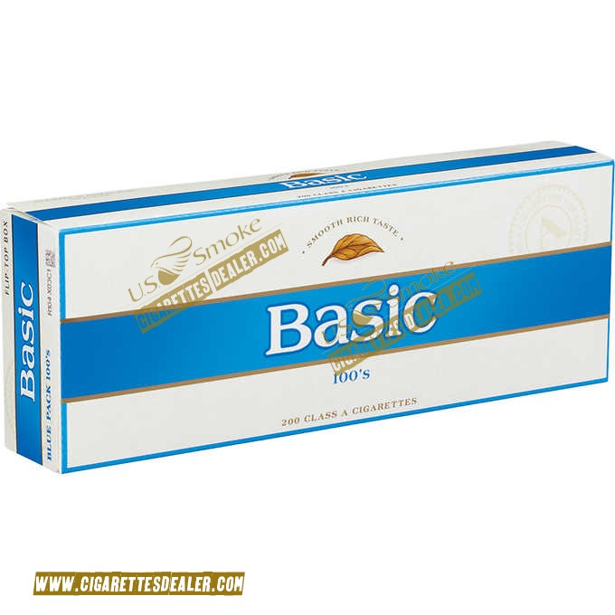 Basic 100's Blue Pack Box