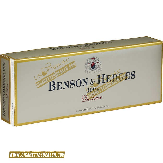 Benson & Hedges 100's DeLuxe Box