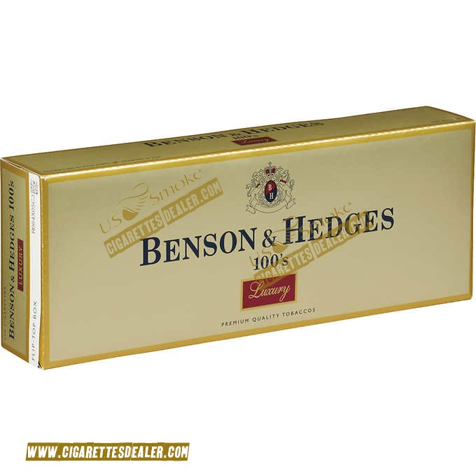 Benson & Hedges 100's Luxury Box