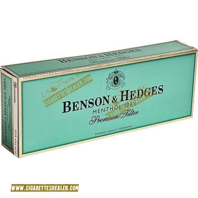 Benson & Hedges Menthol 100's Box