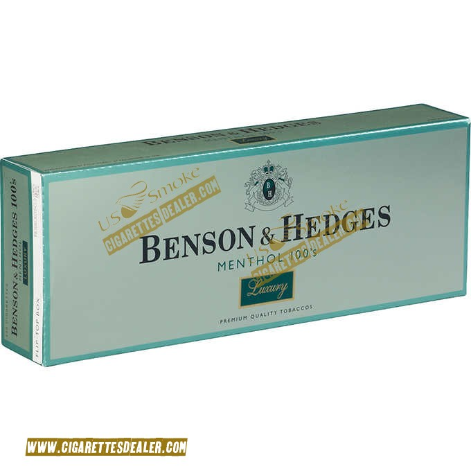 Benson & Hedges Menthol 100's Luxury Box
