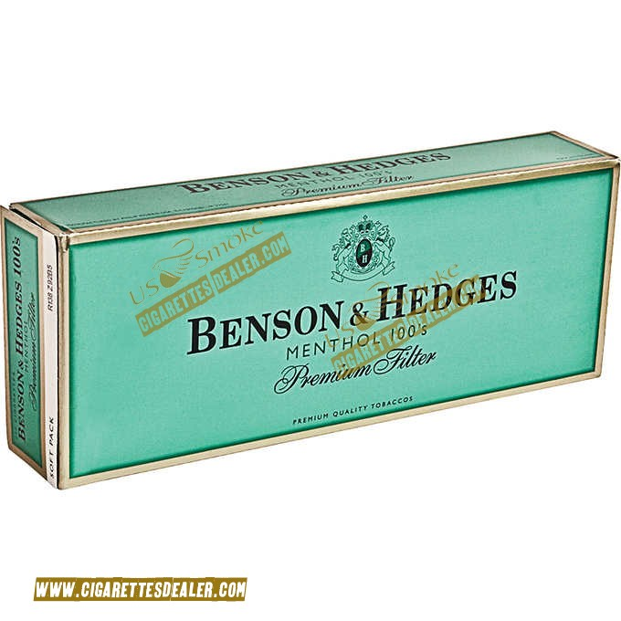 Benson & Hedges Menthol 100's Soft Pack