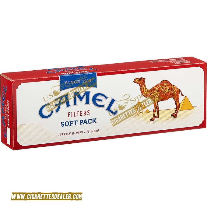 Camel King Filters Soft Pack