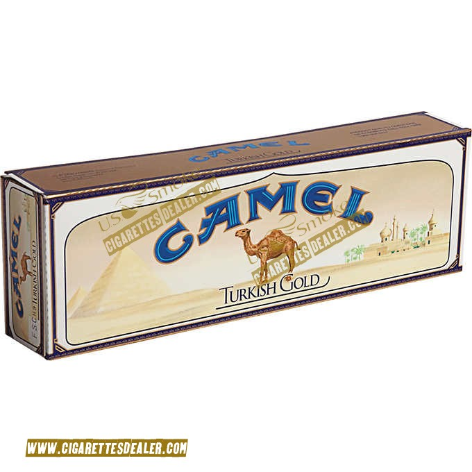 Camel King Turkish Gold Box