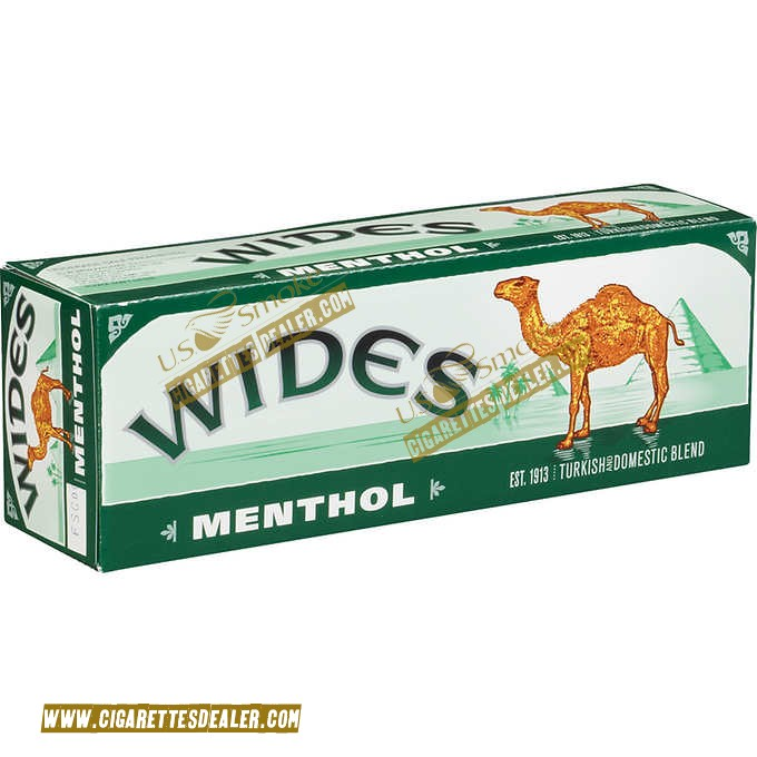 Camel Wides Menthol Box Free Fast Shipping