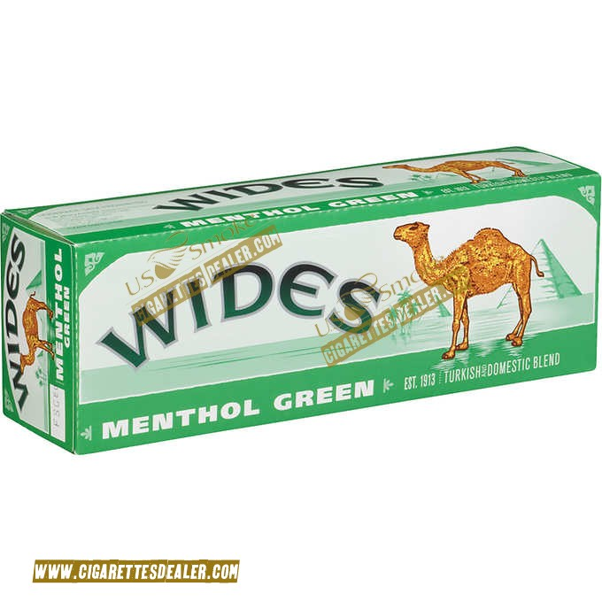 Camel Wides Menthol Green 85 Box
