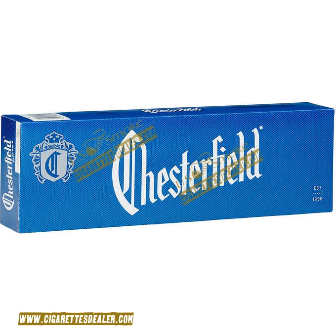 Chesterfield Blue Pack Box