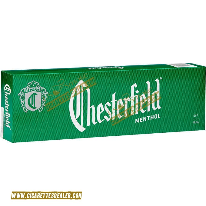 Chesterfield Green Pack Menthol Box