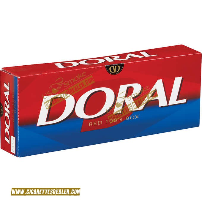 Doral Red 100's Box