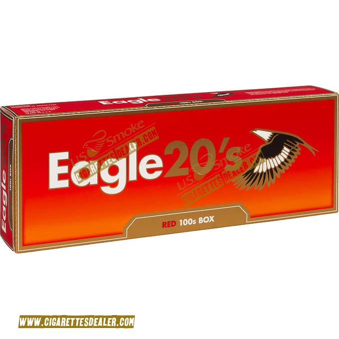 Eagle 20's Red 100's Box