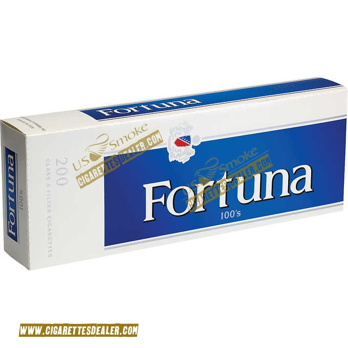 Fortuna Blue 100's Box