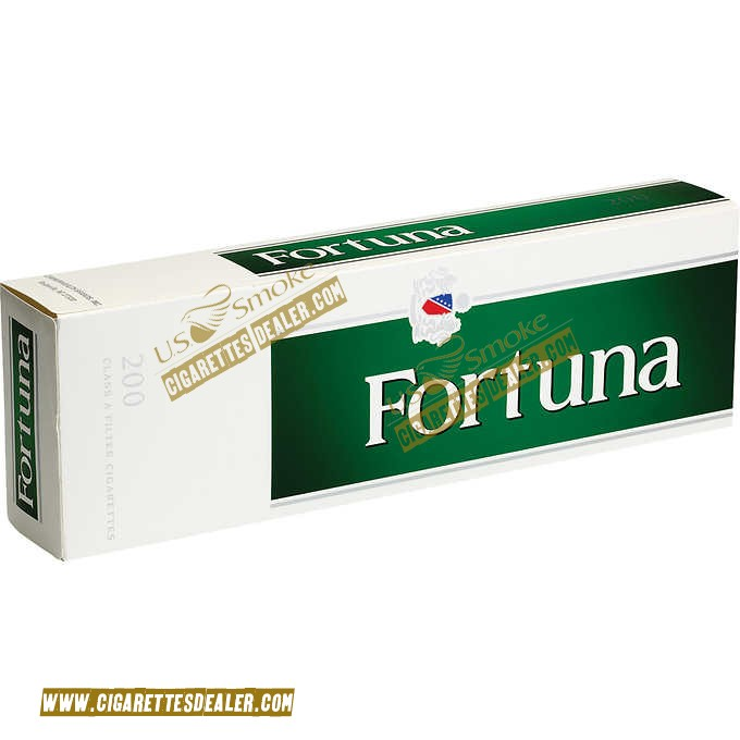 Fortuna King Menthol Dark Green Box