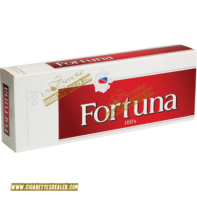Fortuna Red 100's Box