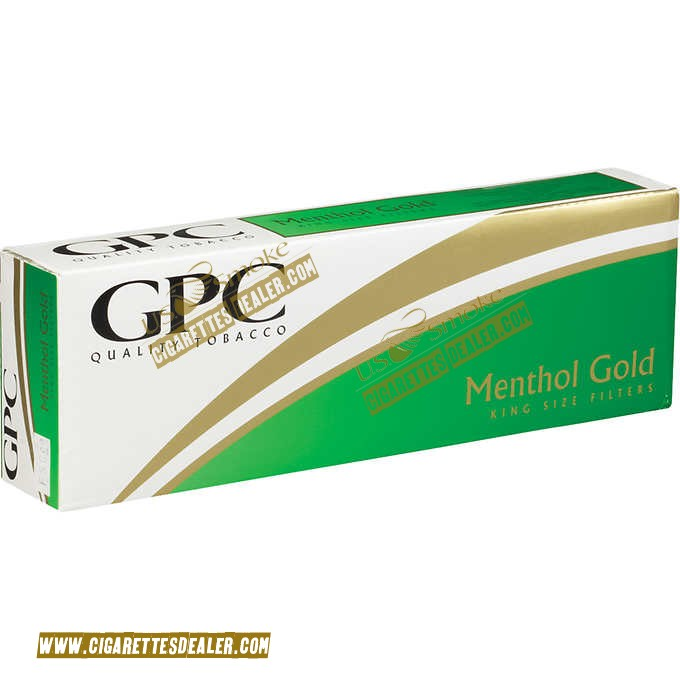 GPC Menthol Gold Soft Pack