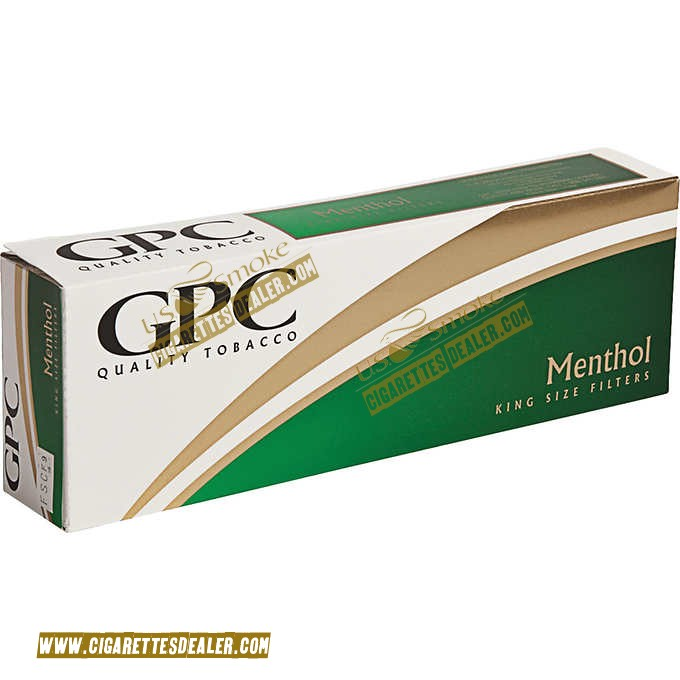 GPC Menthol King Soft Pack