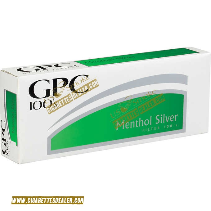 GPC Menthol Silver 100's Soft Pack