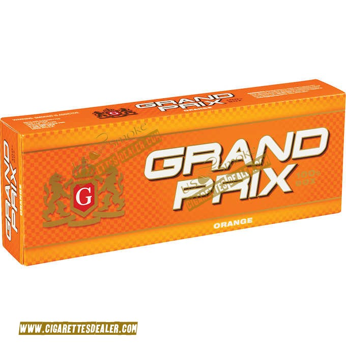 Grand Prix Orange 100's Box
