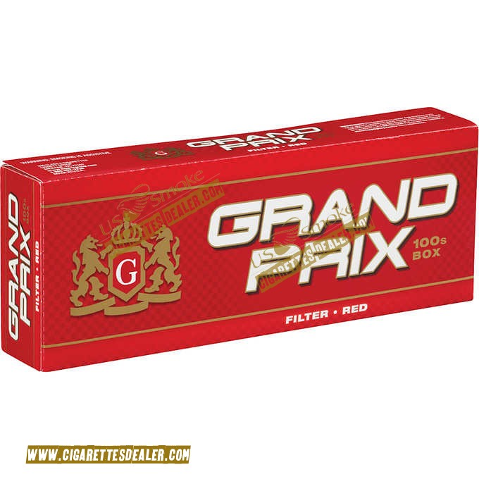 Grand Prix Red 100's Box