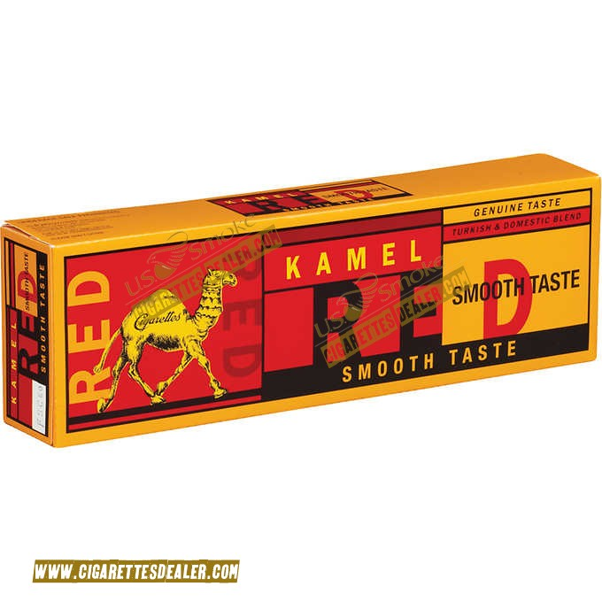 Kamel Red Smooth Taste 85 Box