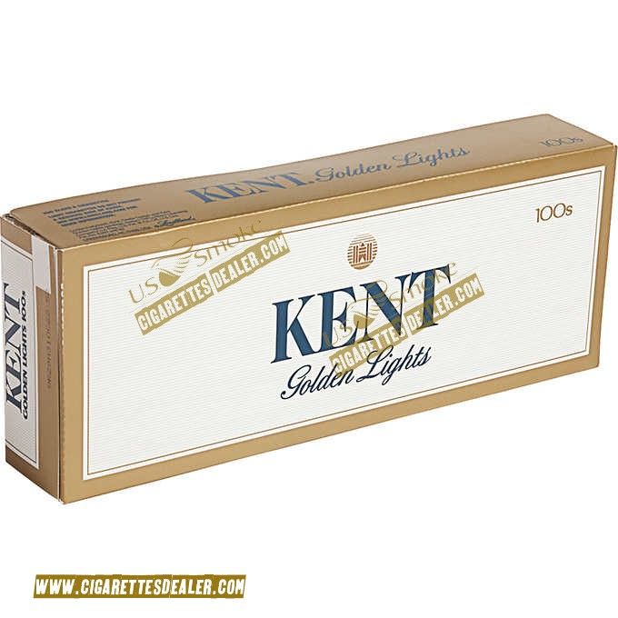 Kent Golden Lights 100's Soft Pack
