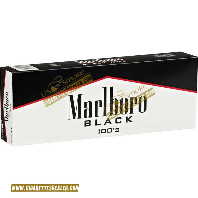 Marlboro Black 100's Box