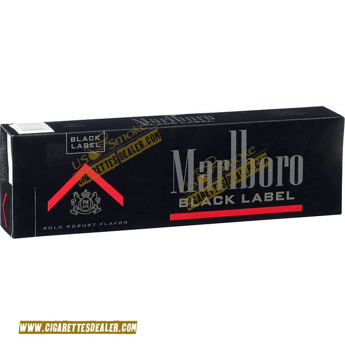 Marlboro Black Label Box