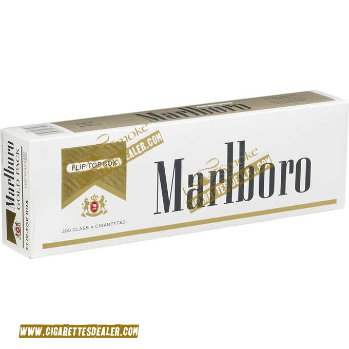 Marlboro Gold Pack Box