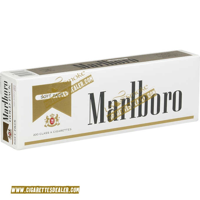 Marlboro Gold Pack Soft Pack