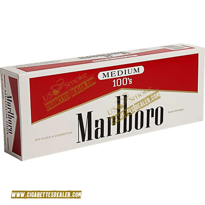 Marlboro Red Label 100's Box