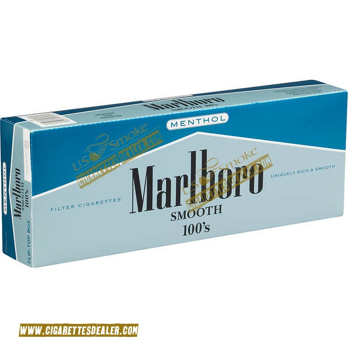 Marlboro Smooth 100's Menthol Box