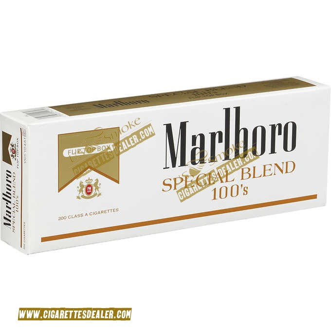 Marlboro Special Blend Gold 100's Box