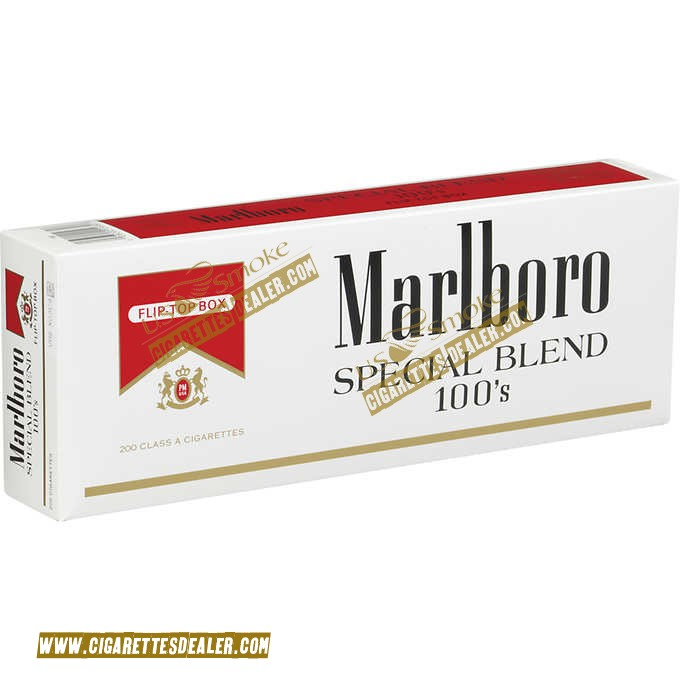Marlboro Special Blend Red 100's Box