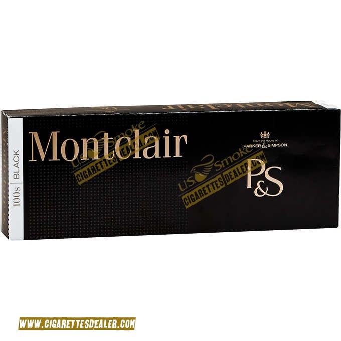 Montclair Black 100's Box