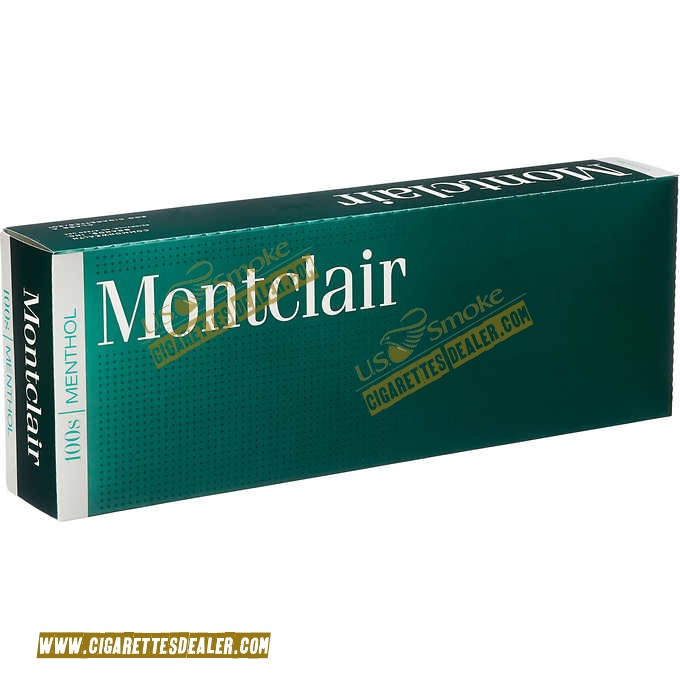Montclair Menthol 100's Box