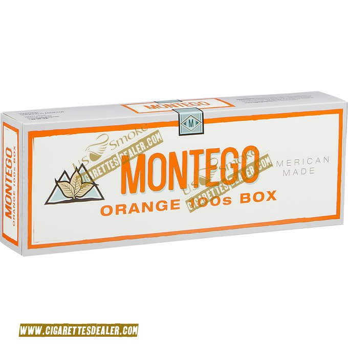 Montego Orange 100's Box
