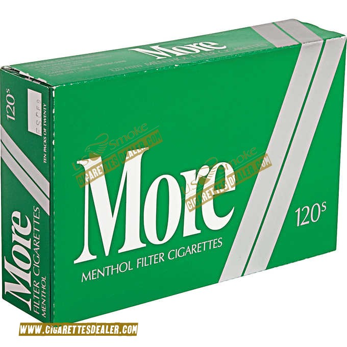 More Menthol 120's Soft Pack