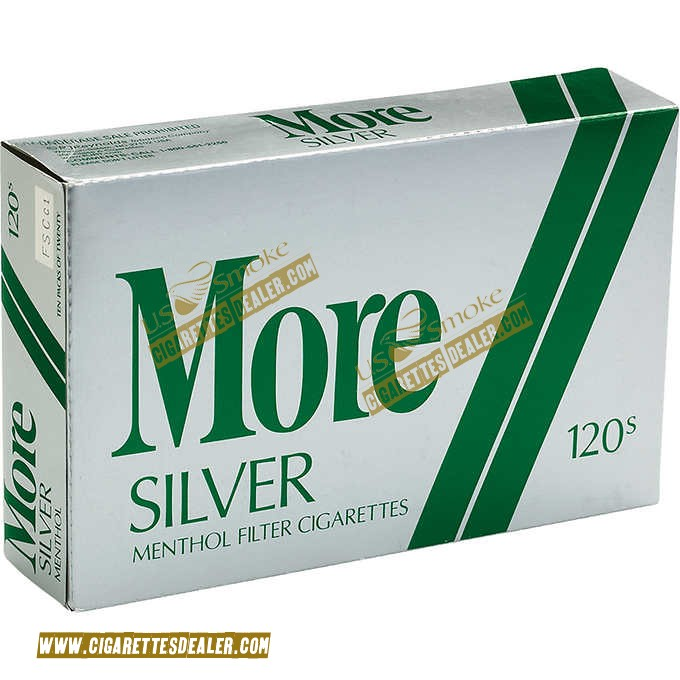 More Menthol Silver 120's Soft Pack