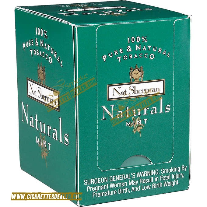Nat Sherman Naturals Mint Box