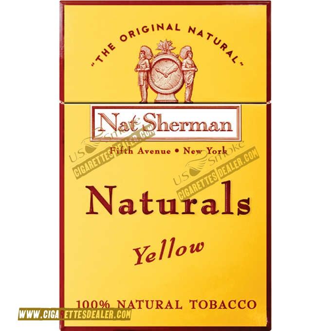 Nat Sherman Naturals Yellow Box