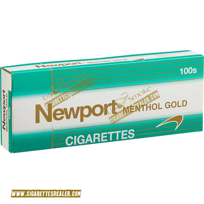 Newport Menthol Gold 100's Soft Pack