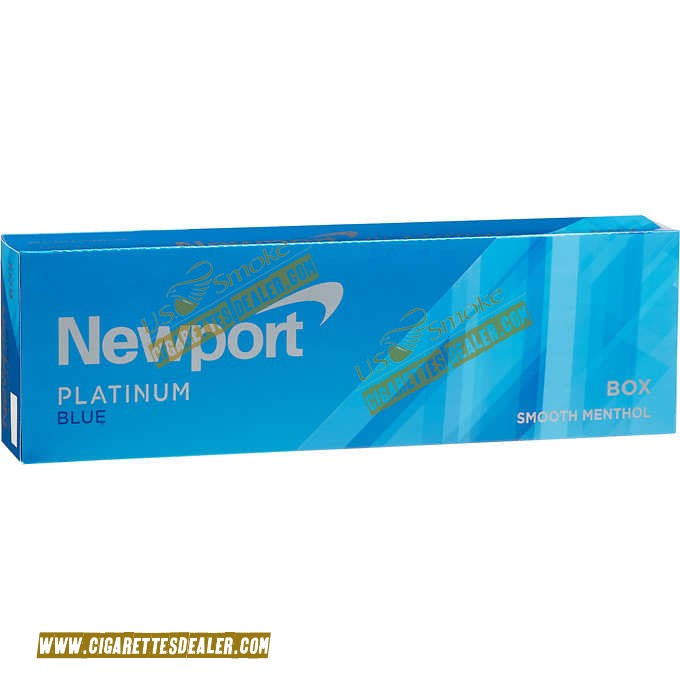 Newport Menthol Platinum Blue Box