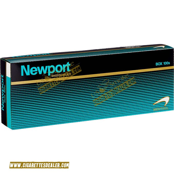 Newport Menthol Smooth 100's Box