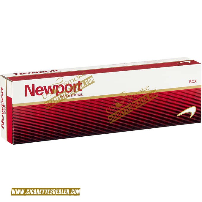 Newport Non-Menthol Red King Box
