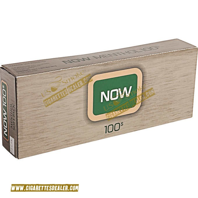 Now Menthol 100's Soft Pack