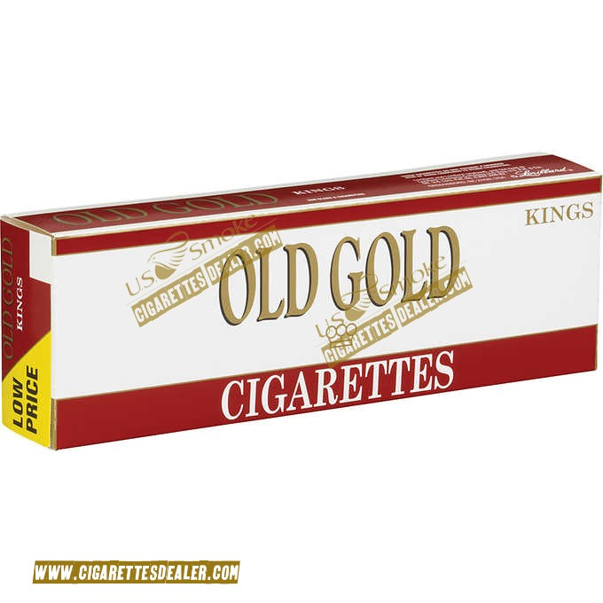 Old Gold King Soft Pack