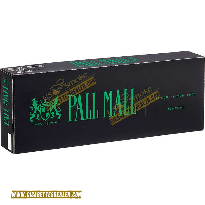 Pall Mall Black 100's Box