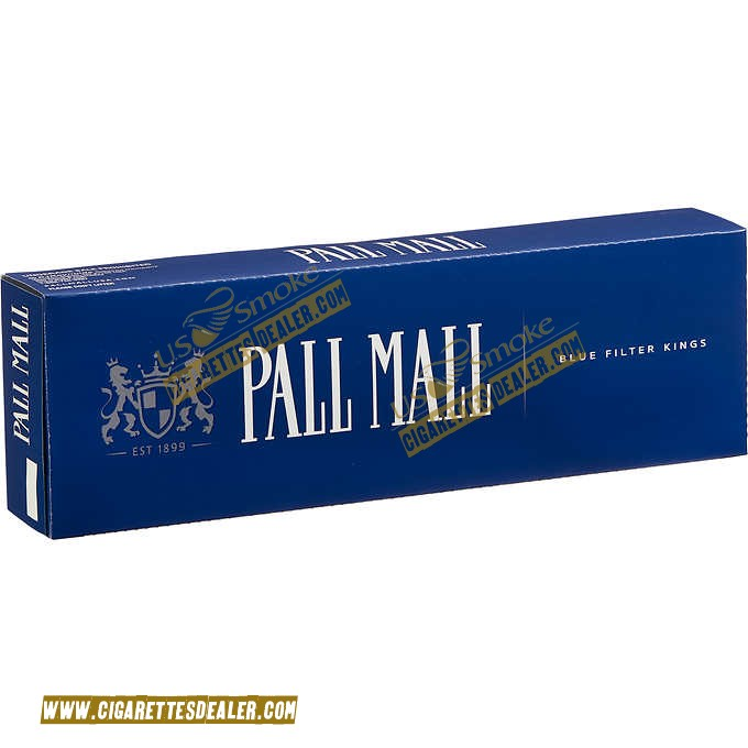 Pall Mall King Blue Box