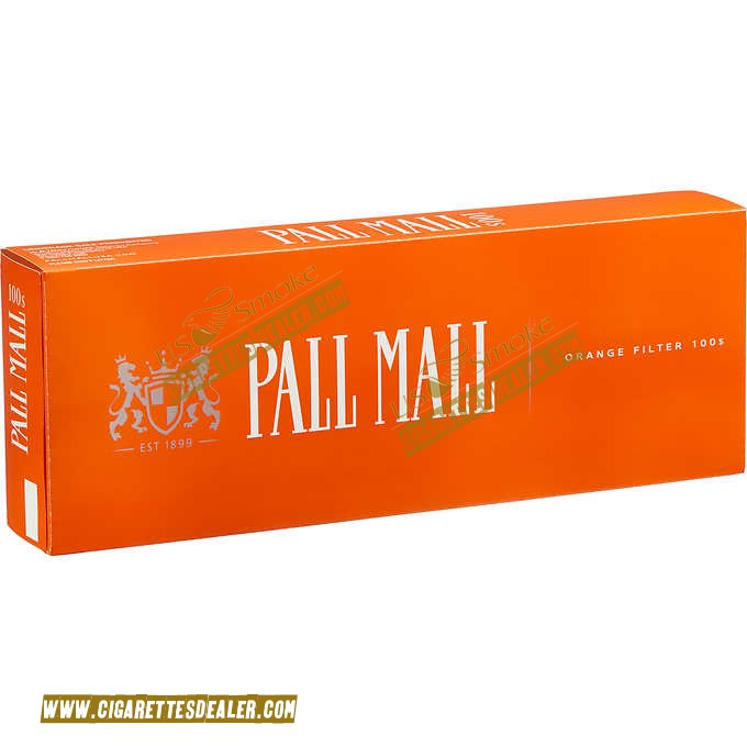 Pall Mall Orange 100's Box